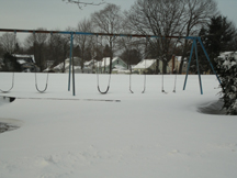 not a day for the playground