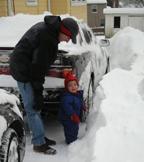 can't wait till i'm taller than snow!