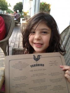 At Yardbird